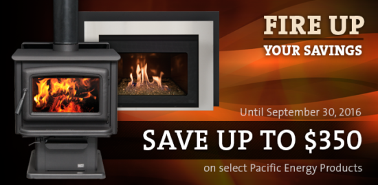 Pacific Energy Fire Up Your Savings